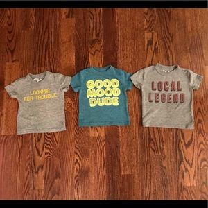 Set of 3 Chaser Boys Tees